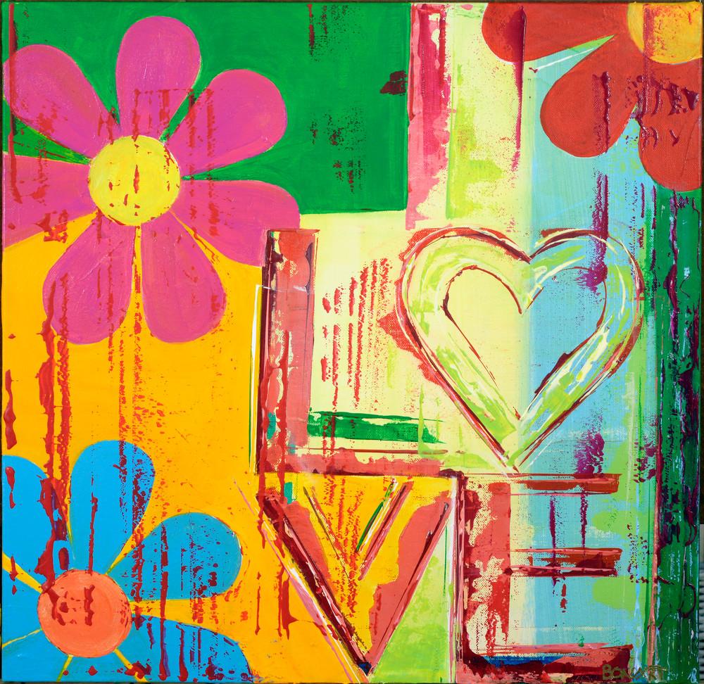 Love In Bloom  Art | benbonart