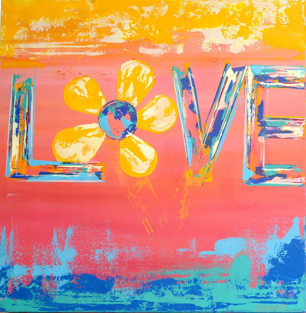 Love Beach Hi Res Art | benbonart