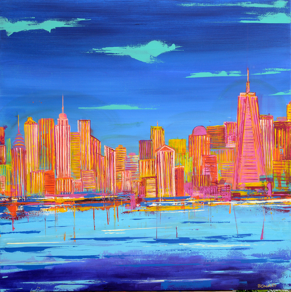 Summ In The City Hi Res Art | benbonart
