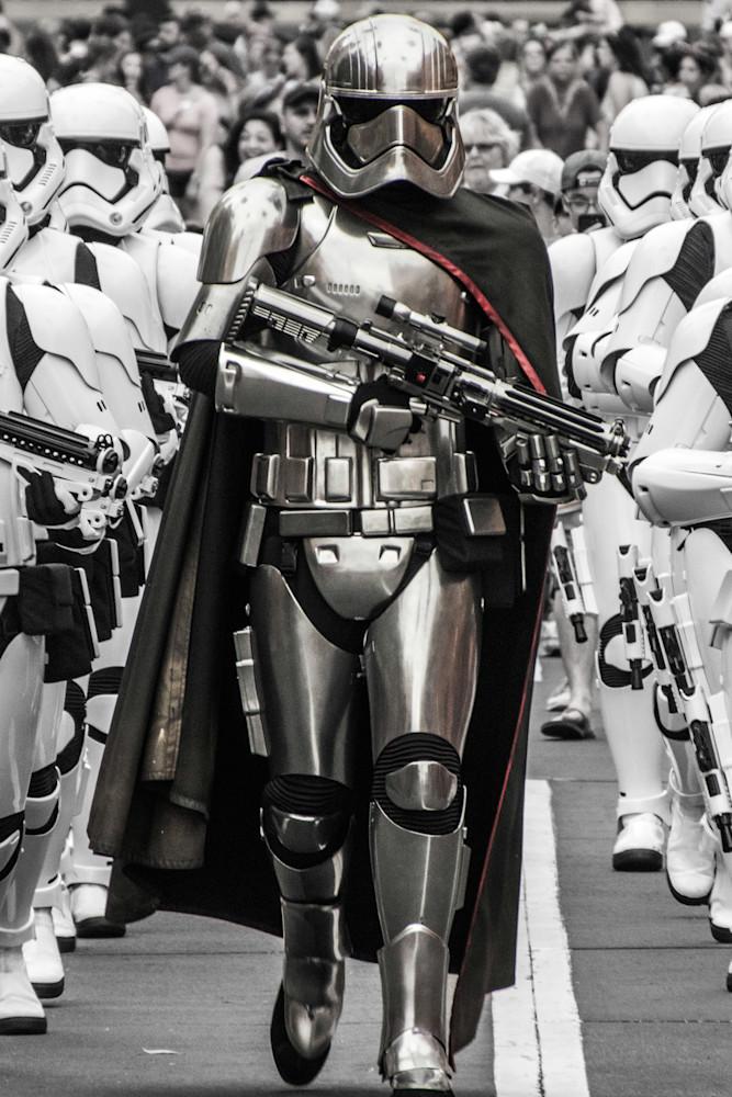 Star Wars Captain Phasma - Star Wars Character Art | William Drew