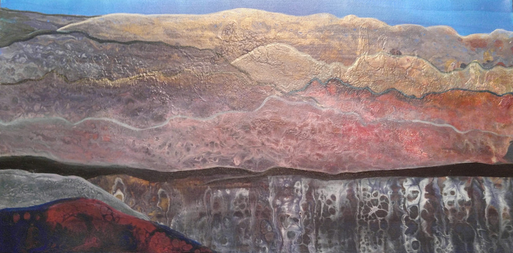 Over The Mountains Art | Patricia Franklin