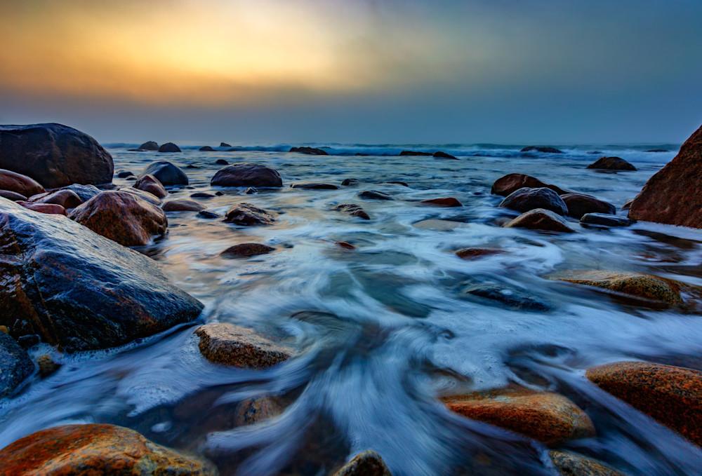Rocky Beach at Montauk Point by Rick Berk