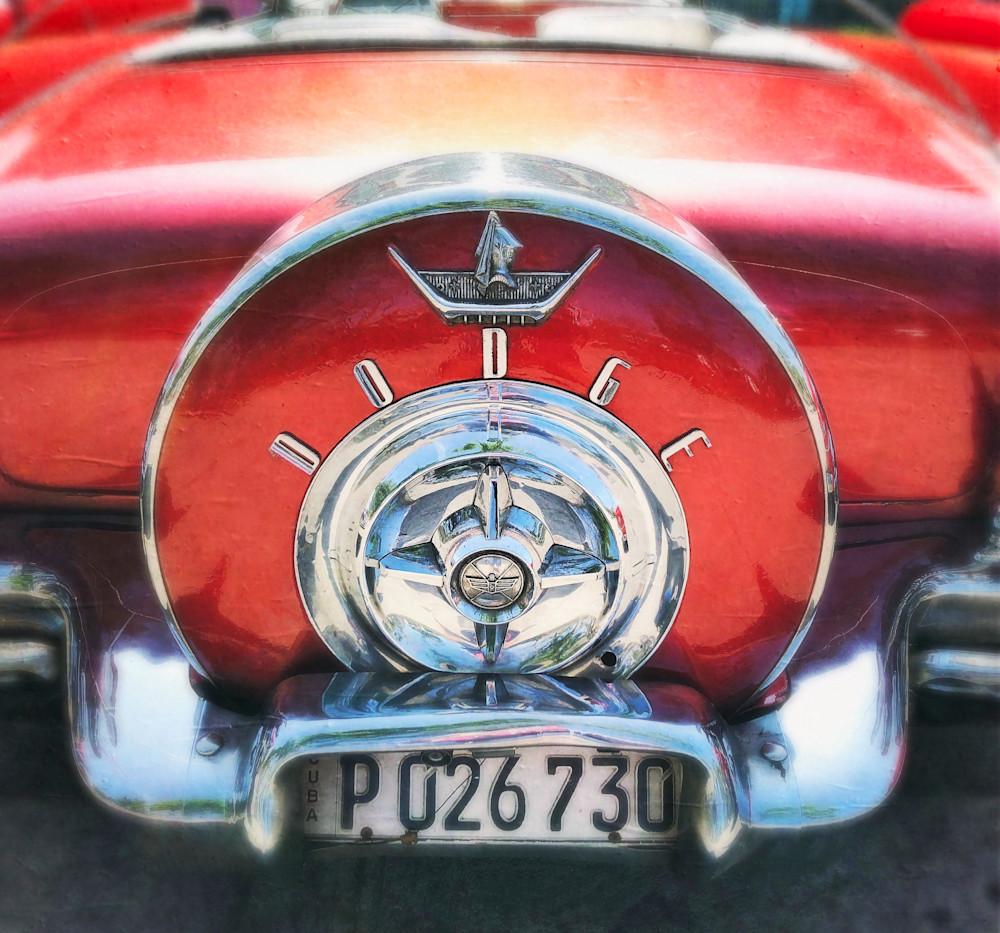 Red Dodge Art | photographicsart
