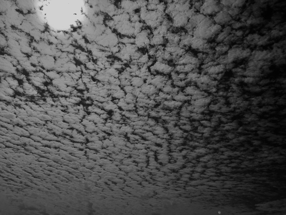 Moon Clouds Photography Art   Brian Ross Photography