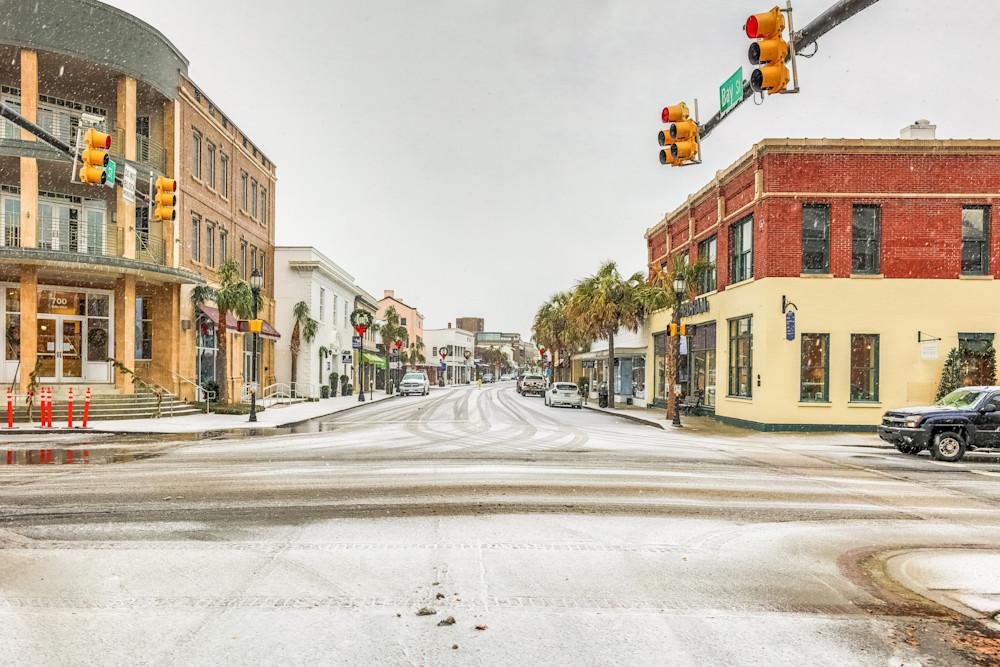Bay Street Snow