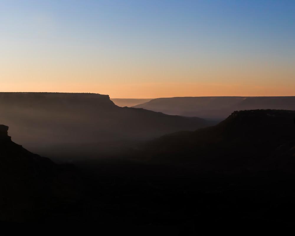 Palo Duro Sunrise in Texas