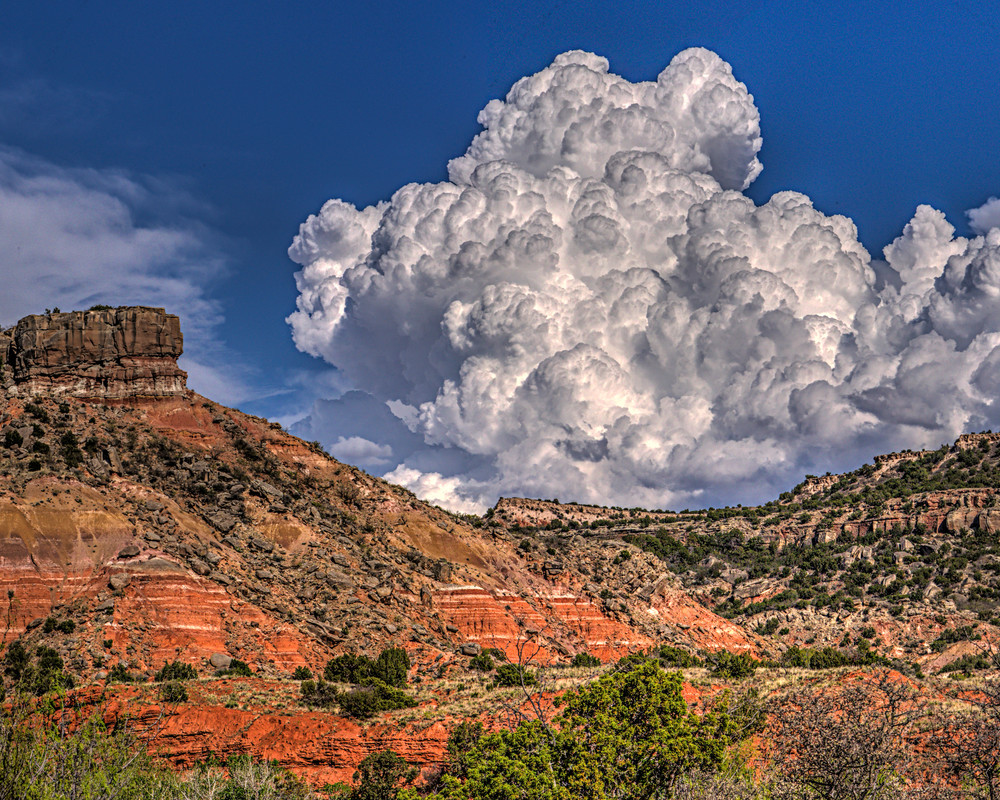 Storm Brewing over Palo Duro Canyon