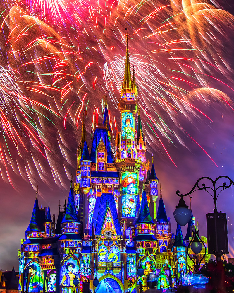 Happily Ever After 53 - Happily Ever After Fireworks | William Drew Photography