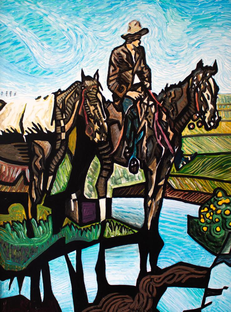 Horses, Western, Cowboy