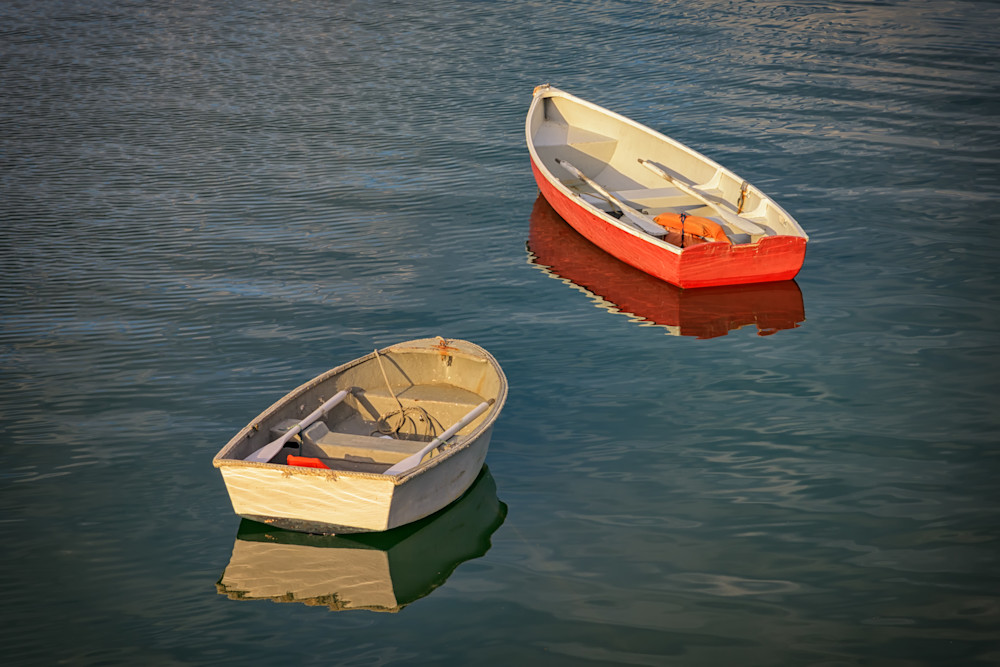 Dinghies in Stonington Harbor | Shop Photography by Rick Berk