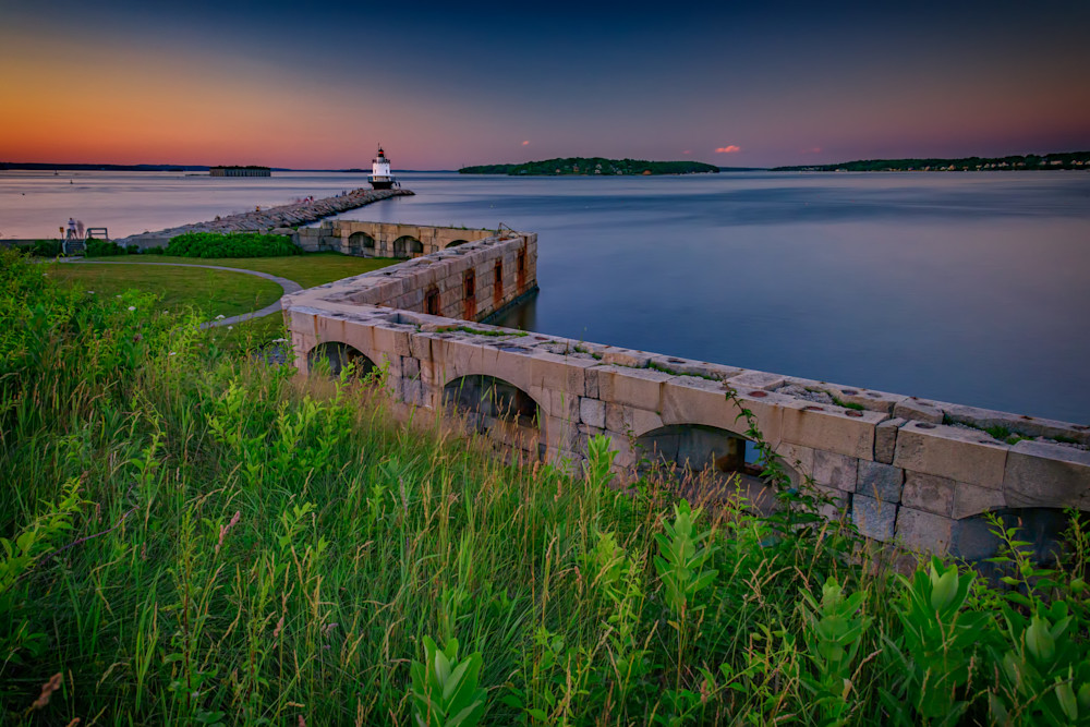 Sunset at Spring Point Ledge | Shop Photography by Rick Berk