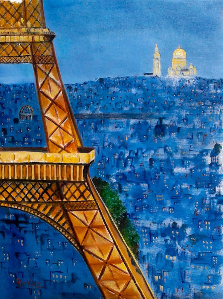 Eiffel Tower Sacre Couer