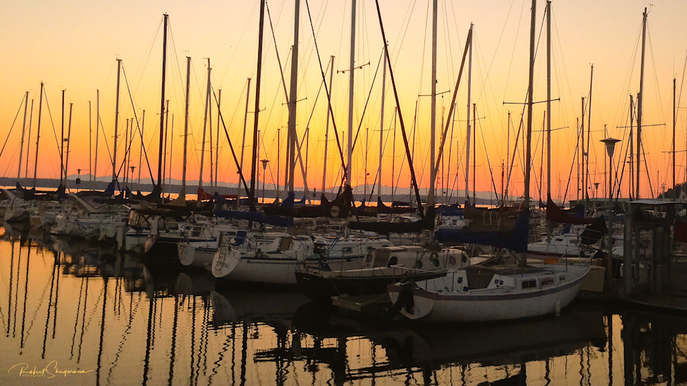 Sailboat Sunset | Shop Prints | Robert Shugarman Photography