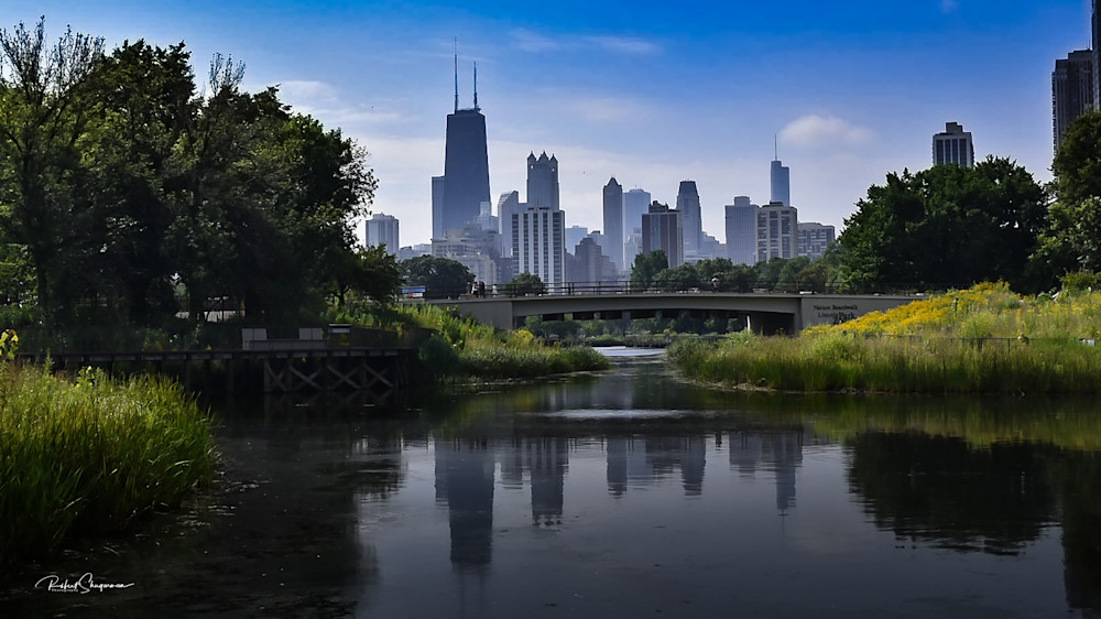 Chicago Skyline from Lincoln Park | Shop Prints | Robert Shugarman Photography