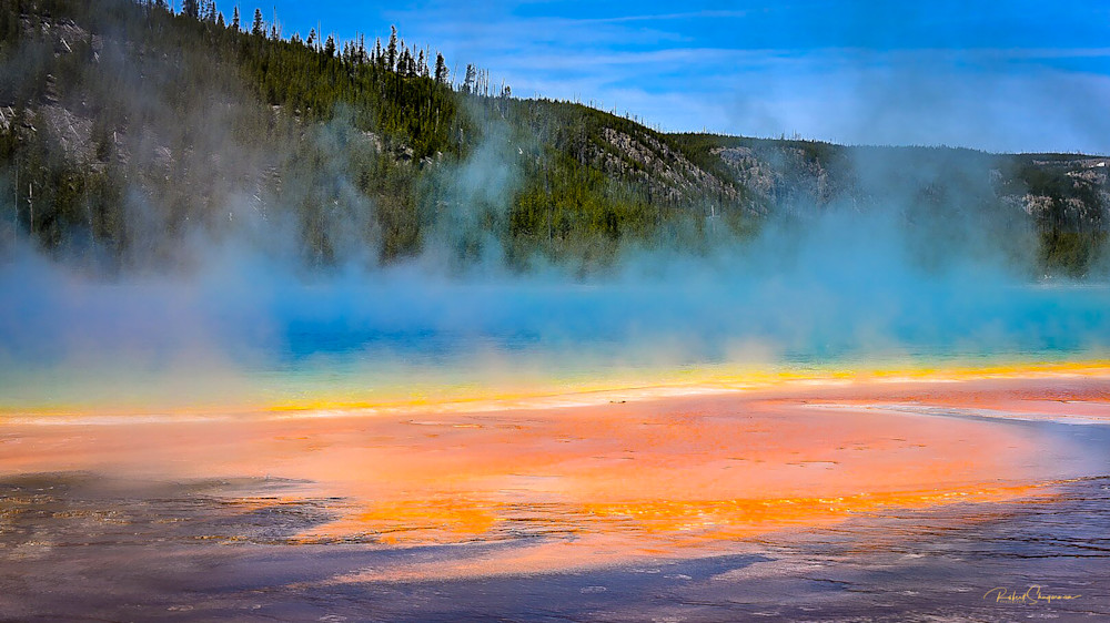Grand Prismatic Springs | Shop Prints | Robert Shugarman Photography