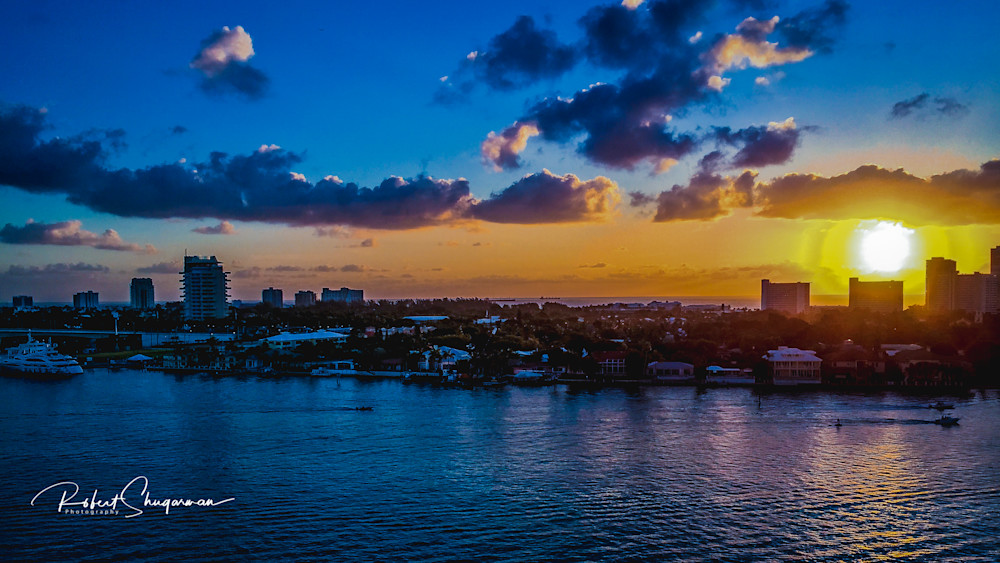 Fort Lauderdale Sunrise | Shop Prints | Robert Shugarman Photography