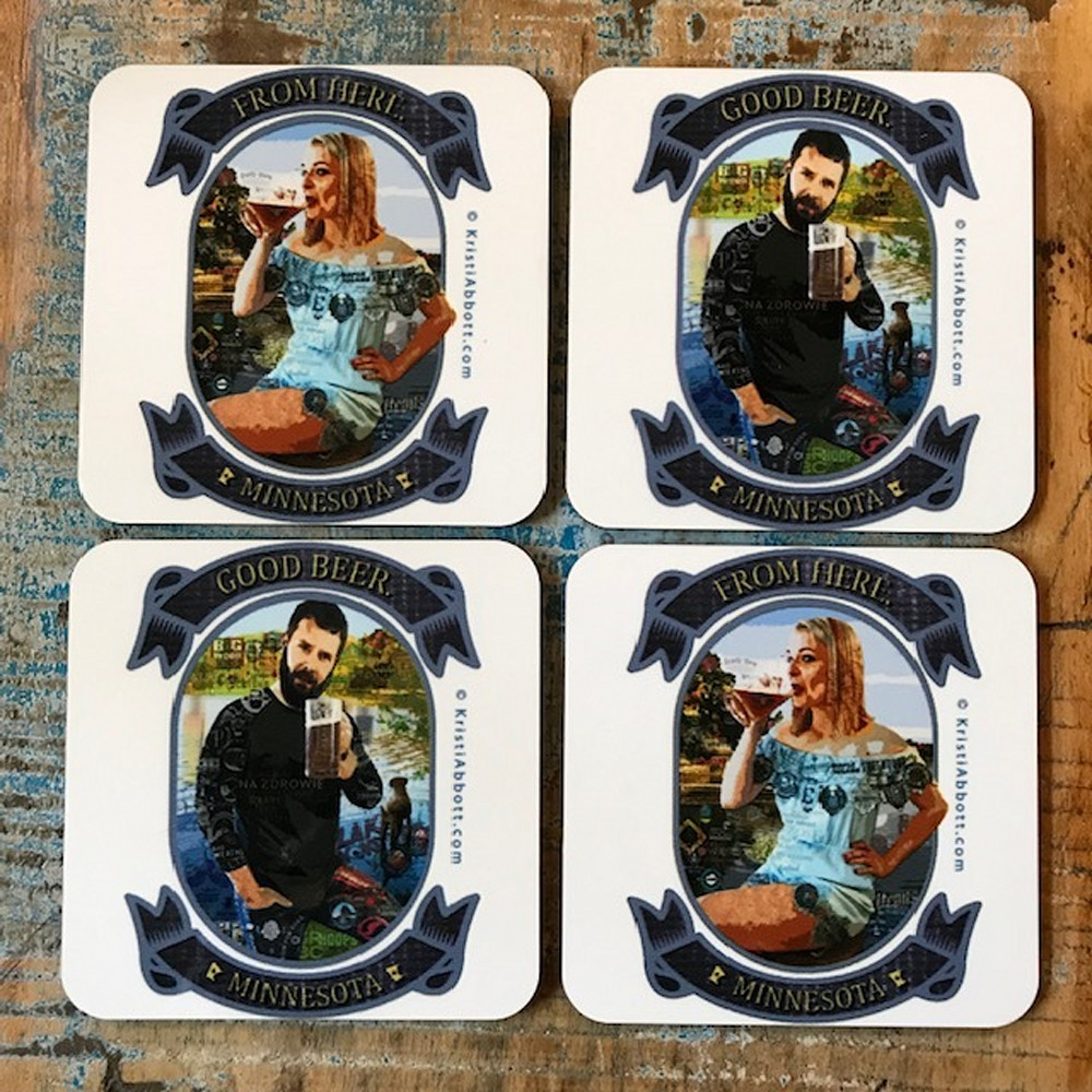 Beer Coaster1 Art | Made by Kristi