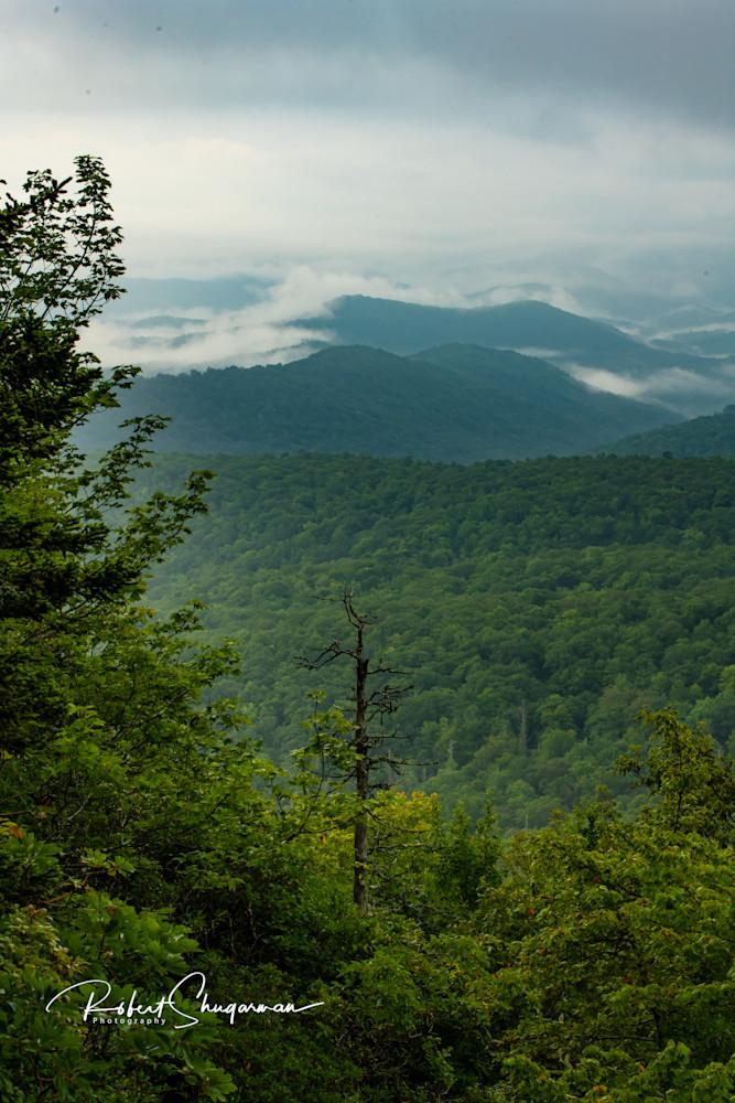 Morning Clouds at Grandfather Mountain   Shop Prints   Robert Shugarman Photography