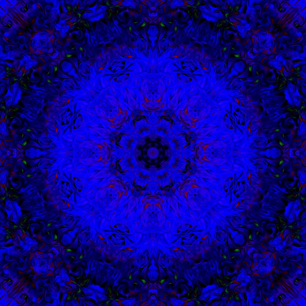 Day 227   Deep Blue Night Art | SkotoArt