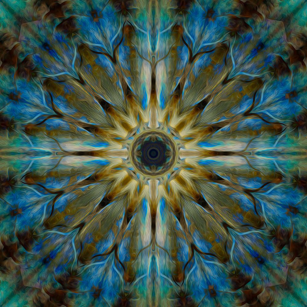 Day 226 - Peacock Mandala