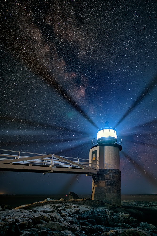 Milky Way Over Marshall Point | Shop Photography by Rick Berk