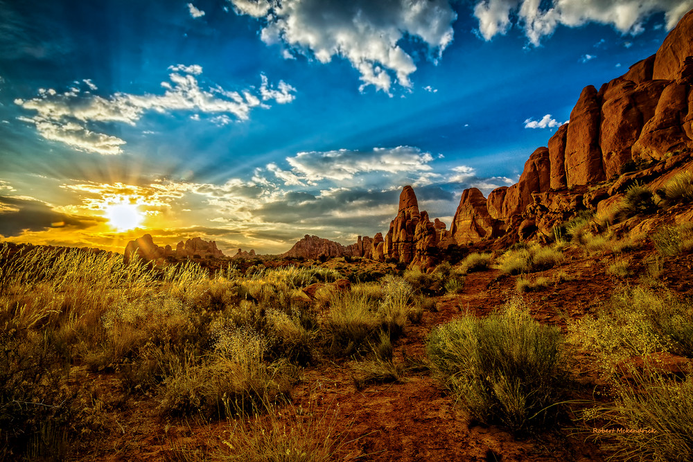 Arches Sunset-Arches National park