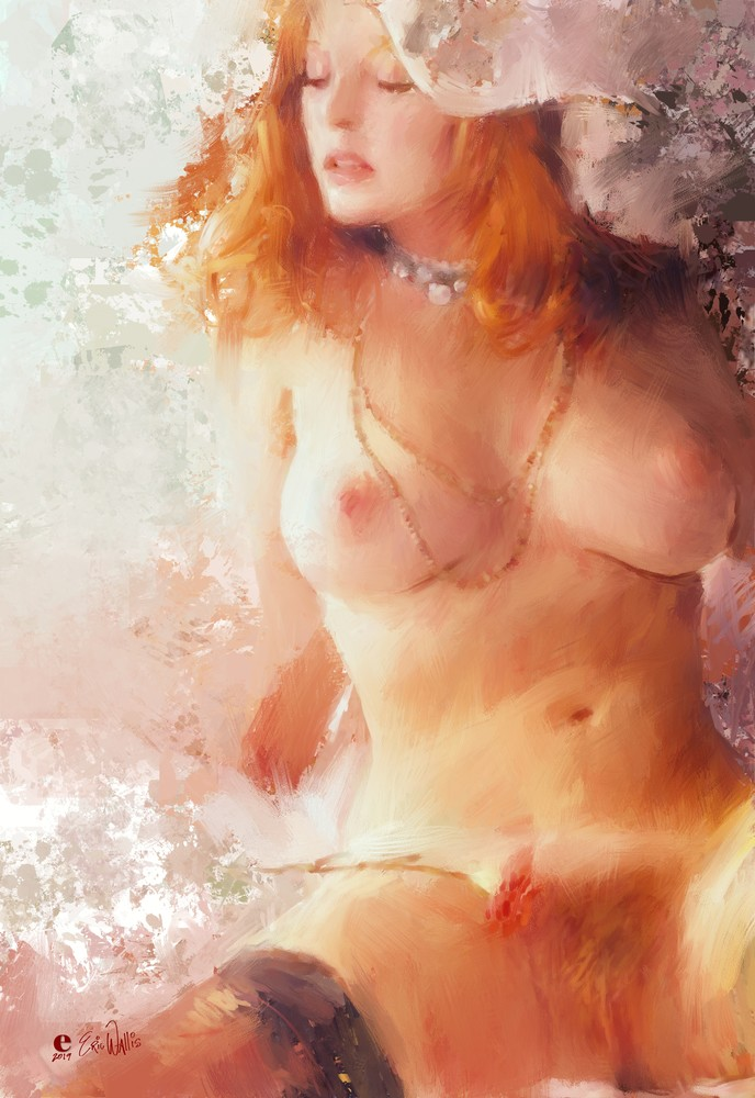 Ginger Boudoir by Eric Wallis.