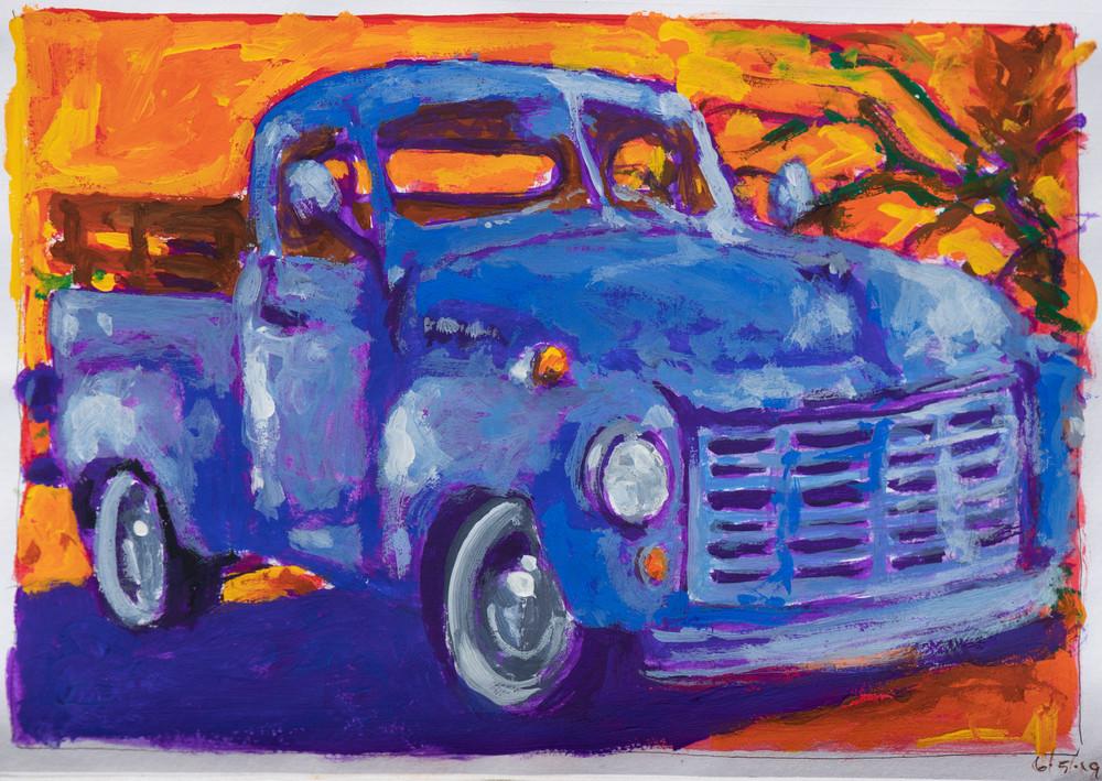 Blue Studebaker