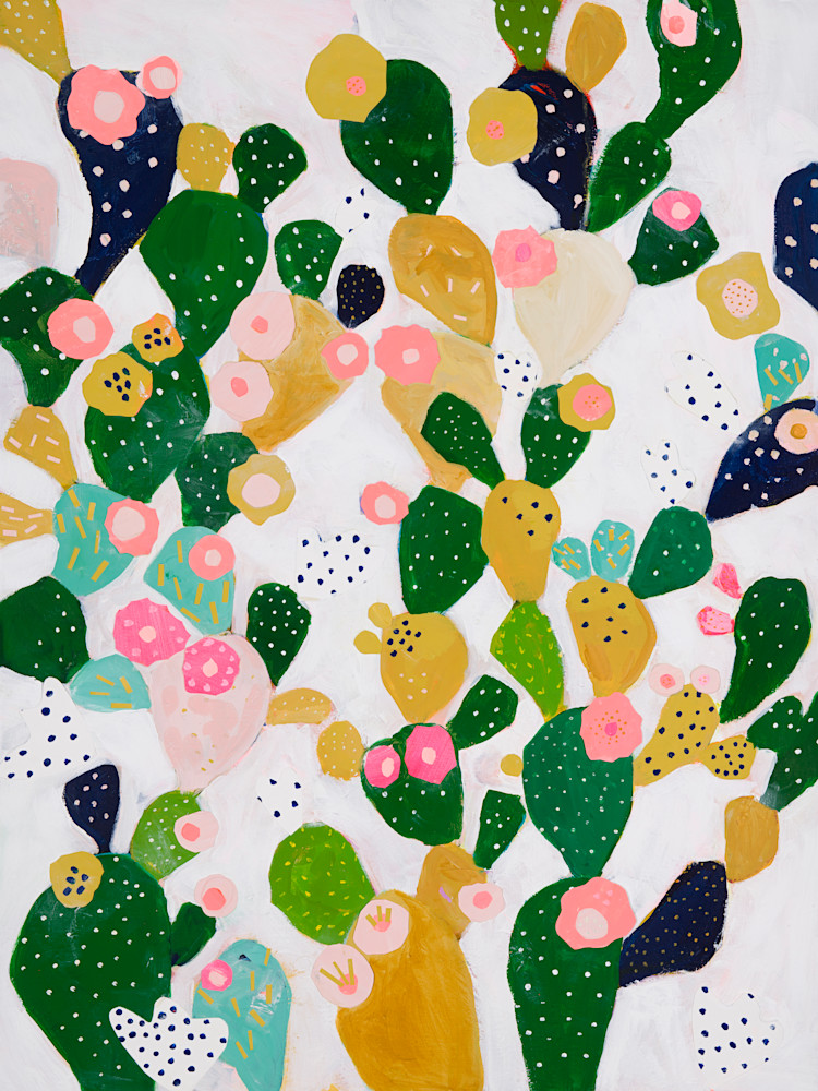 Paper Bloom Collage Art   demiandolive