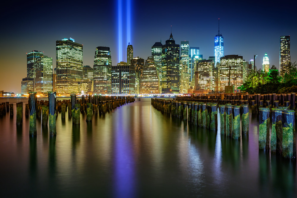 Lower Manhattan on September 11 | Shop Photography by Rick Berk