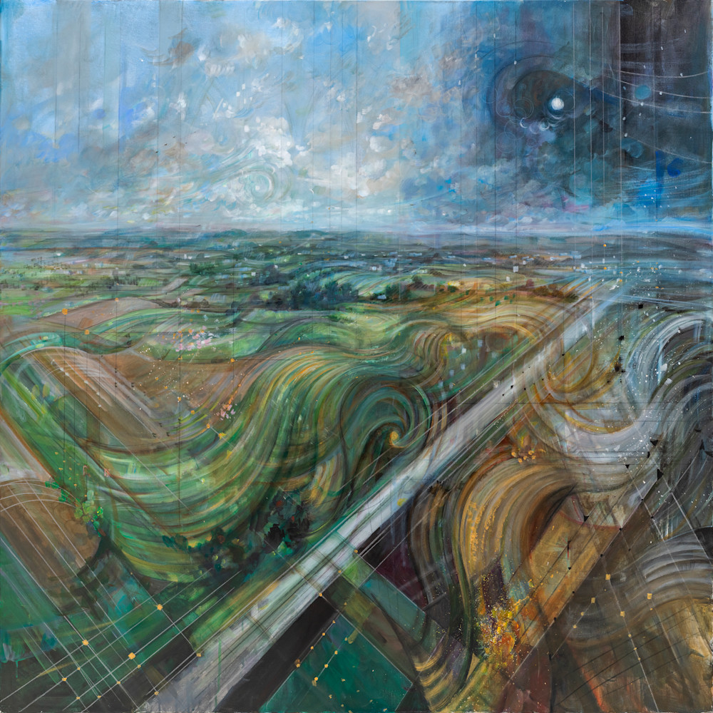 Time Lapse Of The Heroic Fields Art | Freiman Stoltzfus Gallery