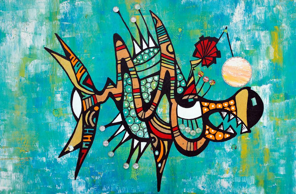 Charlie Fish Art | Becka Watkins Art