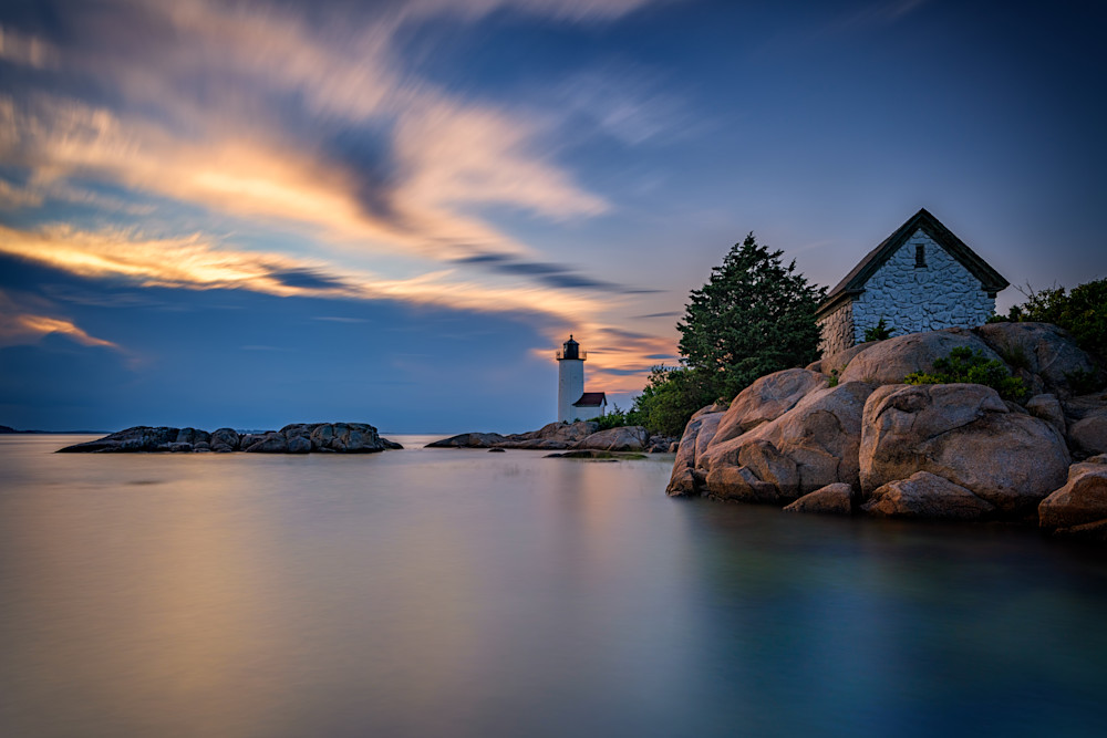 Annisquam Lighthouse at Sunset | Shop Photography by Rick Berk