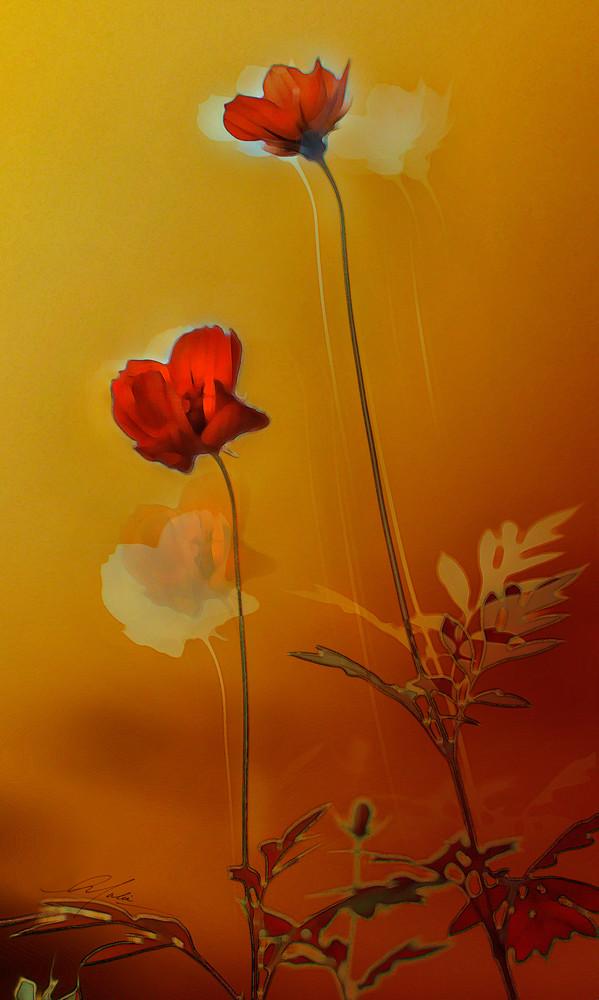 Dancing Flowers Art | Studio Malia