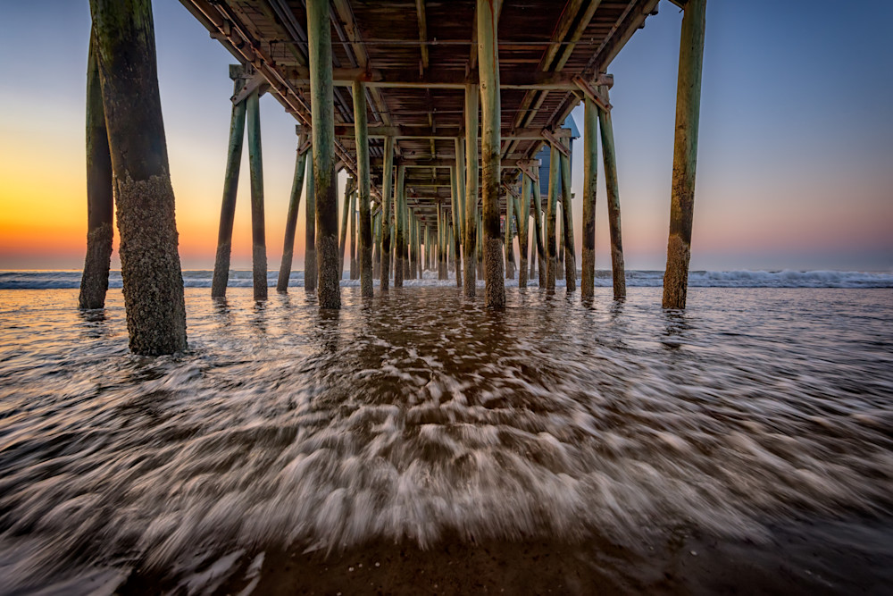 Under the Pier at Old Orchard Beach | Shop Photography by Rick Berk