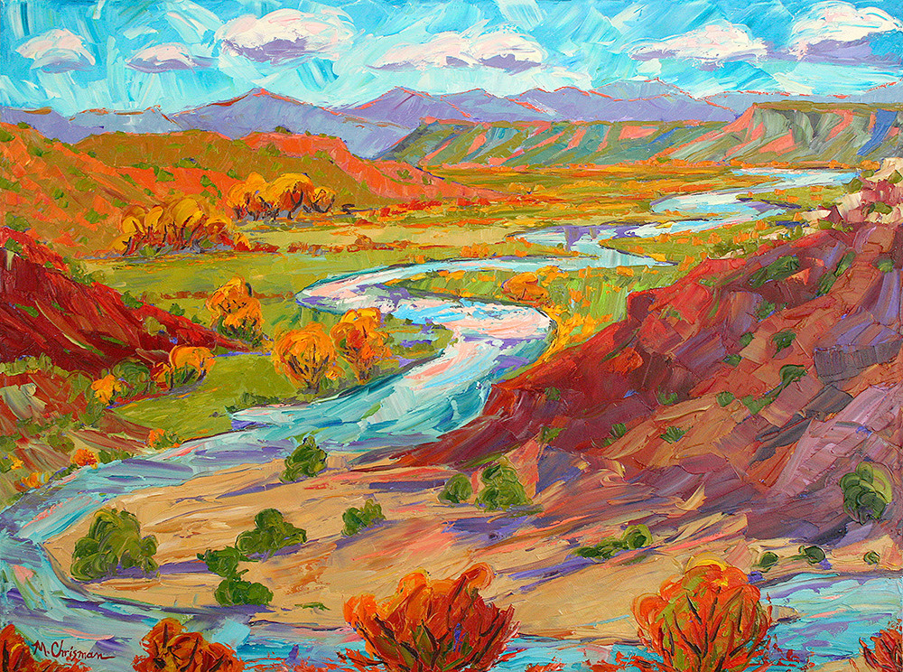 Autumn On The Chama Art | Fine Art New Mexico