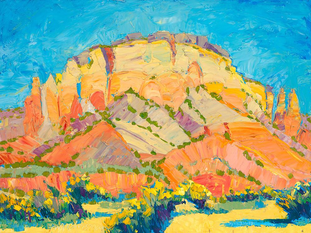 Kitchen Mesa Chamisa Art | Fine Art New Mexico