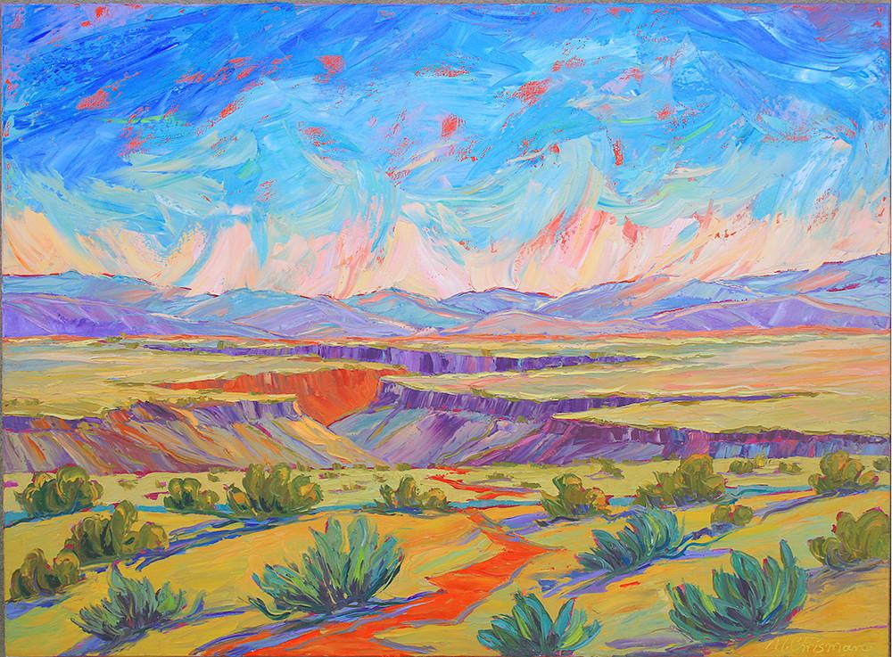Watermelon Skies Over New Mexico Art | Fine Art New Mexico