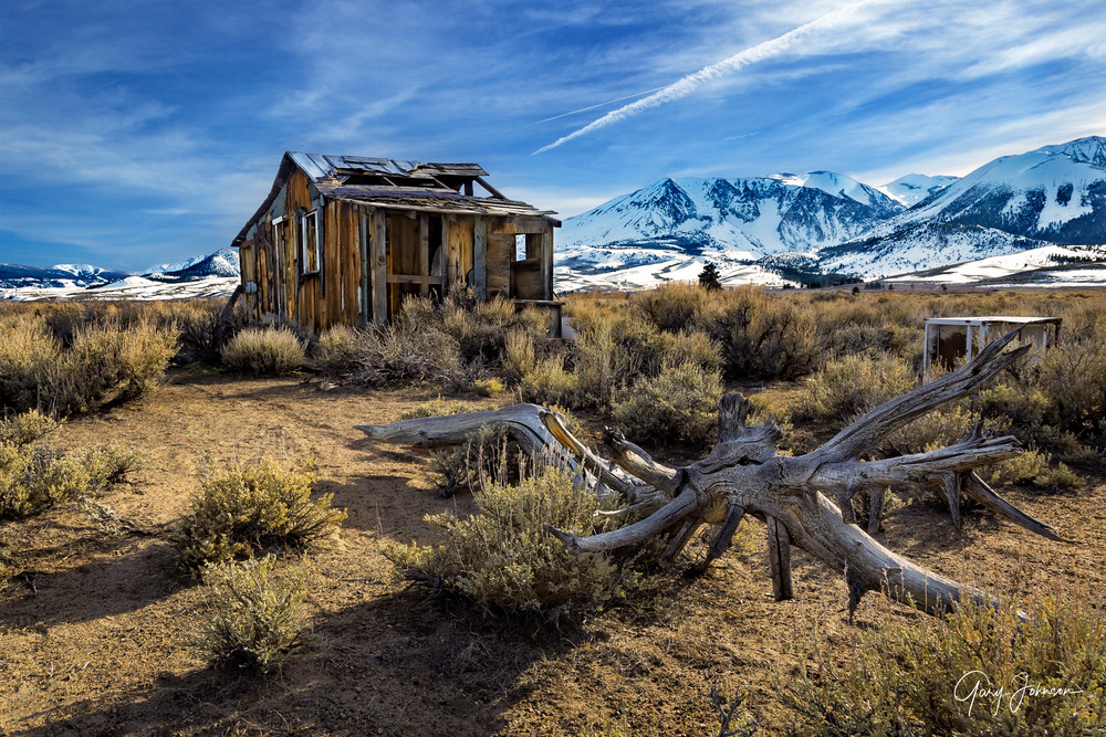 Hw 395 Cabin Photography Art | Gary Johnson Photography
