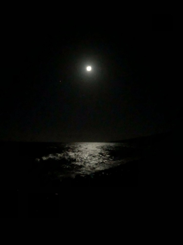 Moonlight On The Sea Iii Photography Art   Brian Ross Photography