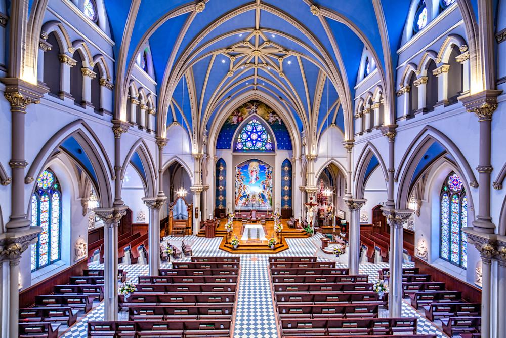 St. Mary's Church in Auburn, NY, photography prints