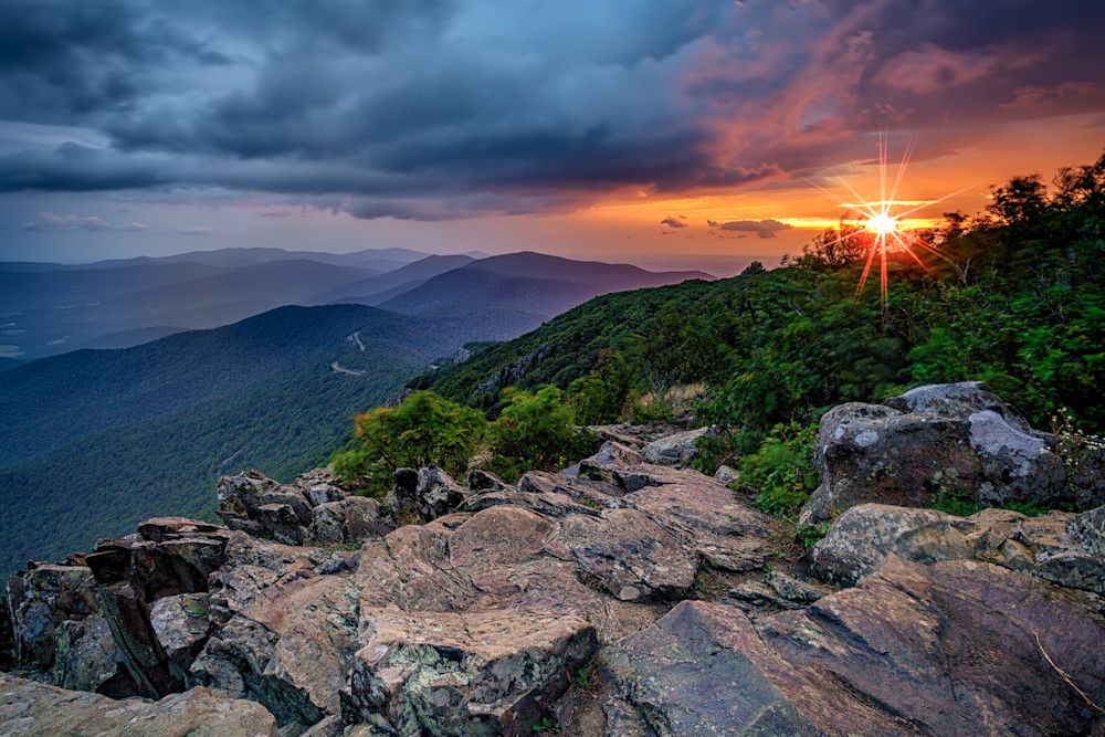 Sunrise on Stony Man Mountain | Shop Photography by Rick Berk
