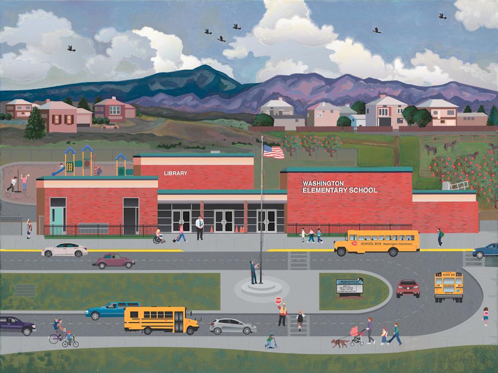 School Starting Art | Julie Pace Hoff Gallery