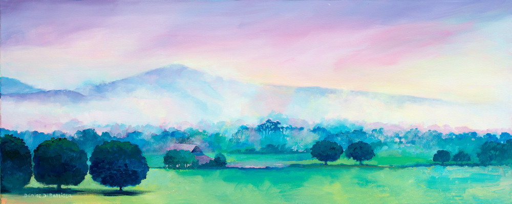 Mountain Brecon Art Print Sugarloaf