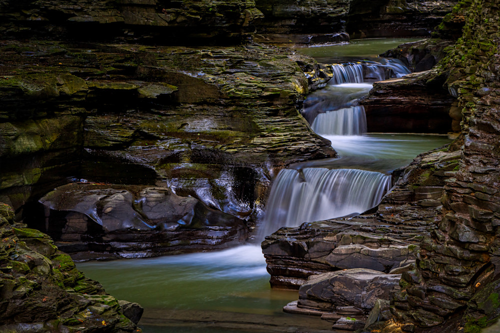 Watkins Glen pools photography prints