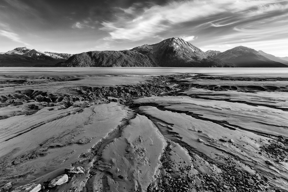 Turnagain Arm Tidal Mudflats Photography Art | Ray Bulson Photography