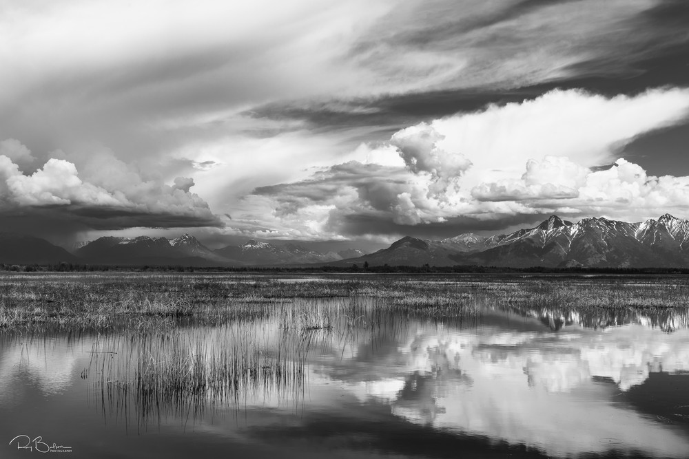 Palmer Hay Flats Storm Photography Art | Ray Bulson Photography