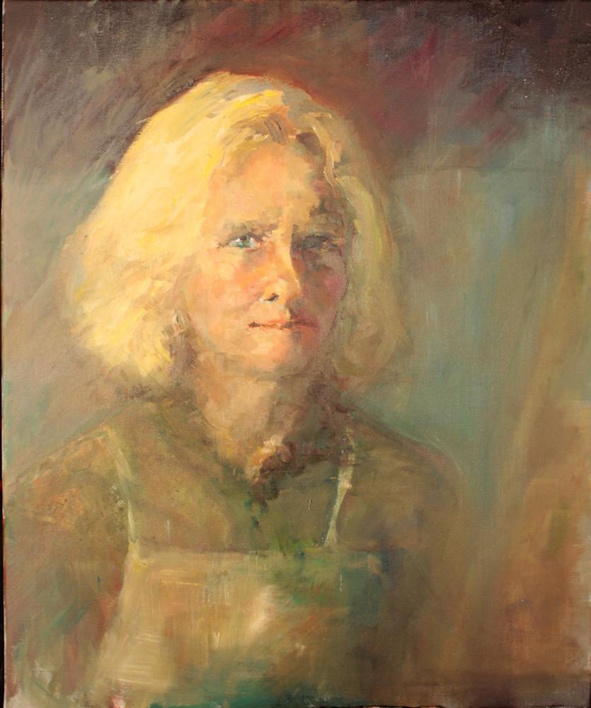 Self Portrait in the Attic