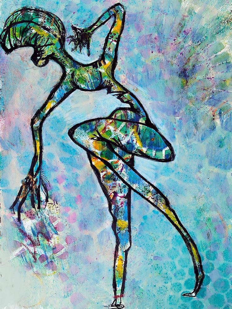 The Girl Without A Voice Art | Becka Watkins Art