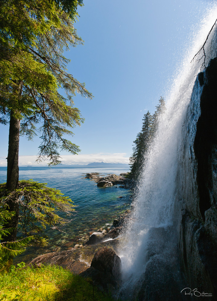 Inside Passage Waterfall